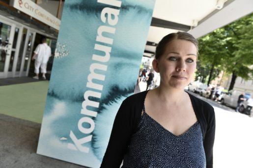 160602 - Lisa Bengtsson, ny medlem i fˆrbundsledningen i Kommunal. Foto: Claudio Bresciani / TT / 10090