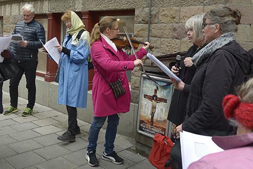 – Hon var så jäkla radikal. Maria Nyman Stjärnskog, skåning, violinist och medlem i Maria Sandel-sällskapet. Foto: Janerik Henriksson/TT