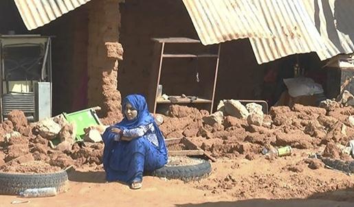 VƒSTSAHARA 20151024 Skyfall har skadat fem flyktingl‰ger i med omkring 90000 flyktingar frÂn V‰stsahara. L‰gren ligger i v‰stra Algeriet vid gr‰nsen mot Marocko och V‰stsahara. Foto: V‰stsahariska Rˆda halvmÂnen / Handout / kod 10500 **OBLIGATORISK BYLINE: V‰stsahariska Rˆda halvmÂnen / ** **Endast fˆr redaktionell anv‰ndning. Bilden kommer frÂn en extern k‰lla och distribueras i sin ursprungliga form som en service till vÂra abonnenter**