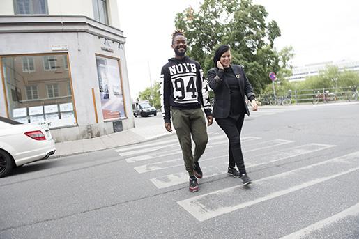 Kikiscenens skönhet är politisk, säger regissören Sara Jordenö, som också skrivit manuset till Kiki tillsammans med Twiggy Pucci Garçon – själv en deltagare i kikiscenen. Foto: Fredrik Sandberg/TT