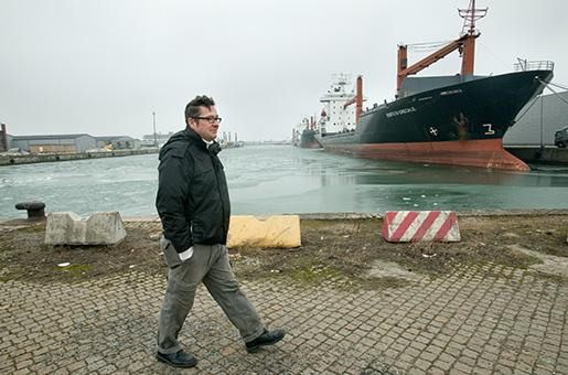 Författaren Kristian Lundberg. Foto: Drago Prvulovic/TT