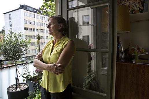 Annelie Nordström ser tillbaka på sin tid Kommunals ordförande och fajterna inom LO. Foto: Anna Simonsson