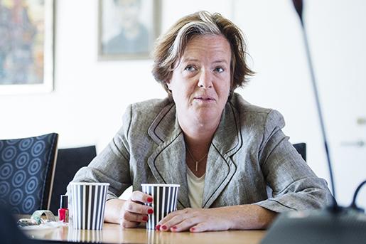 STOCKHOLM 20160816 Socialdemokraternas partisekreterare Carin J‰mtin avgÂr. Hon kommer inte att sttill fˆrfogande fˆr omval vid partikongressen n‰sta Âr utan l‰mnar sin post denna mÂnad. Foto: Izabelle Nordfjell / TT / kod 11460