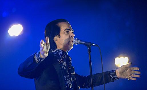 STOCKHOLM 20131106 Nick Cave sjunger på Annexet i Stockholm på onsdagen. Foto: Janerik Henriksson / TT / Kod 10010