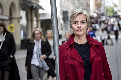 Ulrika Hagström, jämställdhetspolitisk utredare på TCO. Foto: Christine Olsson/TT