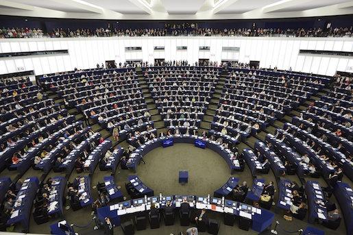 STRASBOURG 20140715 EU-parlamentet i Strasbourg. Foto: Fredrik Persson / TT / kod 75906
