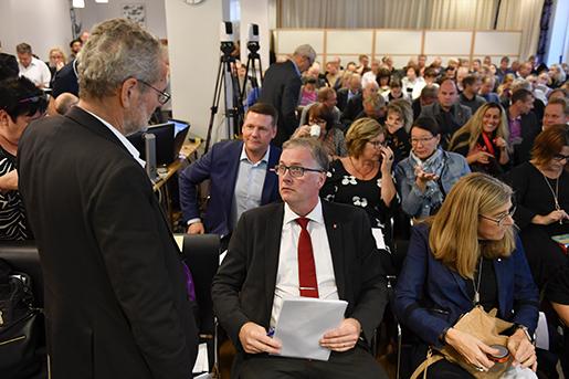 STOCKHOLM 2016-10-19 LO:s avtalskonferens. Foto: Anders Wiklund / TT / Kod 10040
