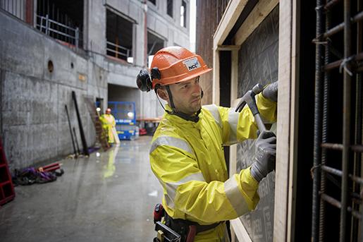 –Ofta blir det inte dåligt när vi gör jobbet, säger Adam Jansson.Foto: Jessica Gow