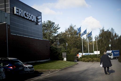 BOR≈S 20161004 Ericssons fabrik i BorÂs. Ericsson bekr‰ftar att 3†000 tj‰nster i Sverige fˆrsvinner. Foto: Bjˆrn Larsson Rosvall / TT kod 9200