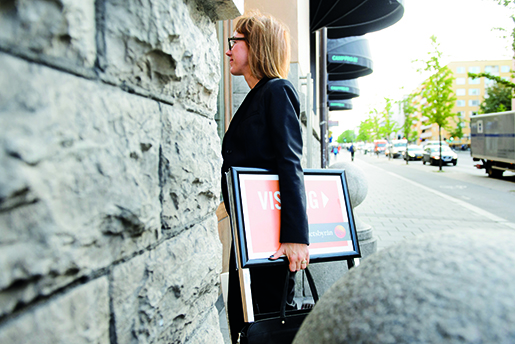 STOCKHOLM 20151002 M‰klaren Pia-Lotta Svensson pFastighetsbyrÂn. Foto: Henrik Montgomery / TT / kod 10060
