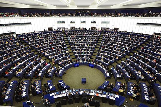 Strasbourg 20140715 EU parlamentet i Strasbourg. Foto: Fredrik Persson / TT / kod 75906