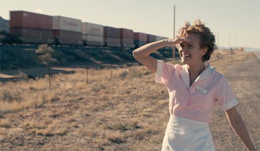 Mireille Enos som Katie, som råkar ut för ett övergrepp men går vidare.