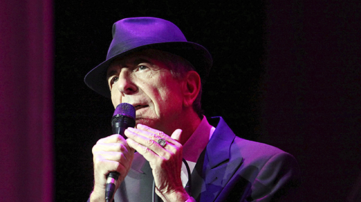 """HOLD FOR STORY FILE - In this March 22, 2013 file photo, Leonard Cohen performs on the Old Ideas World Tour, at The Fabulous Fox Theatre in Atlanta. Cohen, the gravelly-voiced Canadian singer-songwriter of hits like ǃ˙Hallelujah,ǃ˘ """"Suzanneǃ˘ and """"Bird on a Wire,"""" has died, his management said in a statement Thursday, Nov. 9, 2016. He was 82. (Photo by Robb D. Cohen/RobbsPhotos/Invision/AP, File)"""