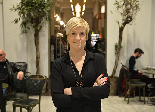 STOCKHOLM 20150401 Jenny Bengtsson, ordfˆrande fˆr Hotell- och restaurangfackets avdelning Stockholm-Gotland Foto: Henrik Montgomery / TT / kod 10060
