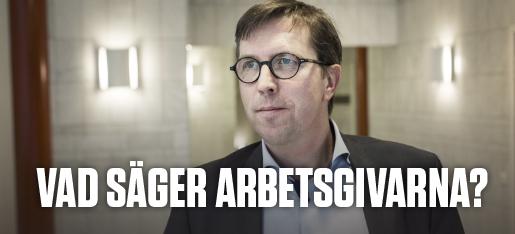 Marcus Strömberg, vd för Academedia Foto: Anders Ahlgren/TT
