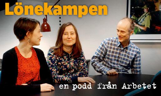 Linda Flood, Jenny Berggren och Mårten Nilsson. Foto: Eva Vaihinen