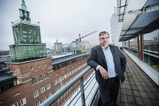 Arbetsförmedlingens chef Mikael Sjöberg. Foto: Linda Forsell