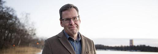 Stressforskaren Göran Kecklund. Foto: Jessica Gow /TT