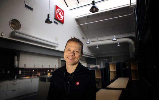 – Vi ska bli det nya Apple och ett nytt Ikea i vår bransch. Anders Tysk var ingenjör på Saab och startade sedan eget. Foto: