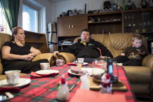 Familjen Willman har jobbat pSAAB i Trollh‰ttan i mÂnga Âr. Efter konkursen flyttade de upp till Fredriks hembygd, Uddeholm i Hagfors. Foto: Fredrik Karlsson/Solstafoto