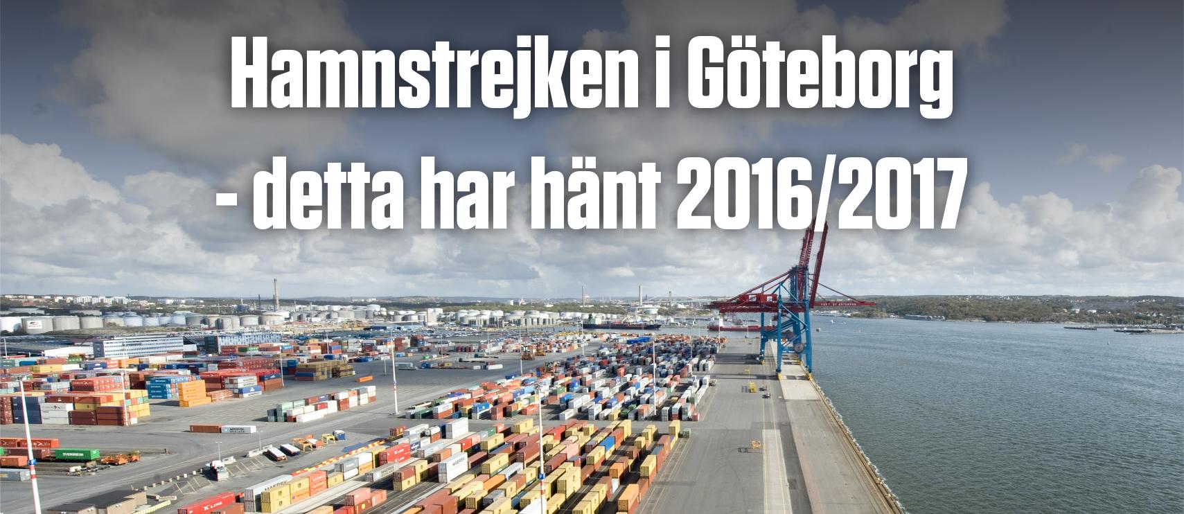 Hamnavtal klart i goteborg