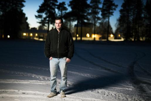 Henrik Haraldsson, servicetekniker, utsattes för asbest på Fortums kraftverk i Ånge.