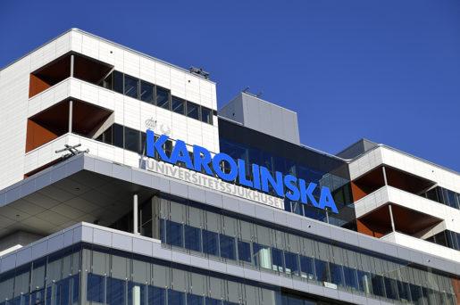 SOLNA 2016-11-20 Exteriˆrbild pden nybyggda sjukhusbyggnaden Nya Karolinska Solna (NKS) psˆndagen. Psˆndagen flyttade de fˆrsta patienterna ˆver till den nybyggda sjukhusbyggnaden. Foto: Henrik Montgomery / TT / kod 10060