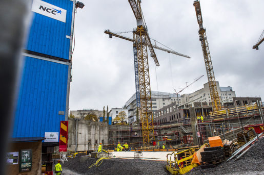 STOCKHOLM 2016-10-25 En bild frÂn ombyggnationen av Sˆdersjukhuset, (SˆS) Foto: Lars Pehrson / SvD / TT / Kod: 30152 ** OUT DN och Dagens Industri (‰ven arkiv) och Metro**