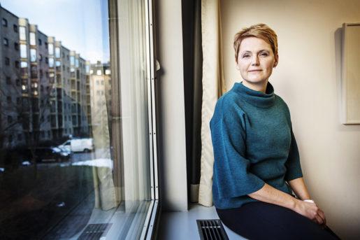 Anna-Karin Hatt, vd Almega. Foto: Linus Sundahl-Djerf