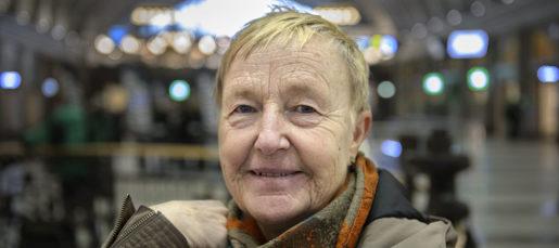 STOCKHOLM 20170222 Enk‰t, tillfrÂgad person nummer 1. Foto: Noella Johansson / TT kod 11640