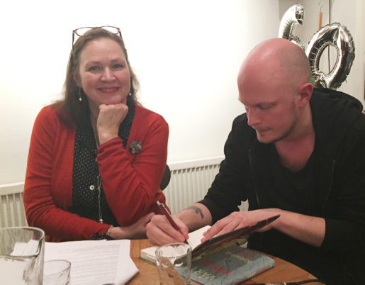 Annelie Brännström Öhman och David Nyman deltog under årets festival. Foto: Yvonne Rittval