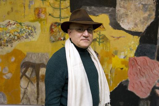 Issa Touma tror på konstens kraft att påverka samhällsutvecklingen: – Konst har alltid ett budskap, säger han.Foto: Pernilla Wahlman/TT