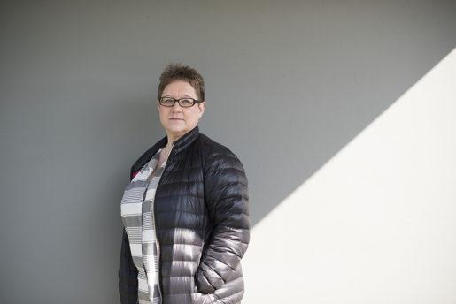 Kristina Spjut Sahlberg, Kommunals ordförande i Älmhultssektionen är oroad över problemen med hot och våld på Nicklagården. – Jag tror att det till 95 procent beror på bemanningen. Foto: lina alriksson