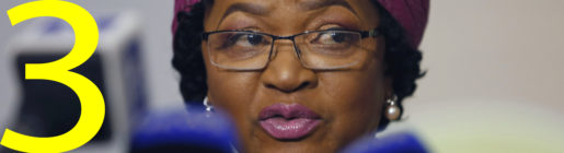 South Africa's speaker of the National Assembly, Baleka Mbete speaks at a news briefing in Johannesburg, Sunday April 2, 2017. Mbete said she is considering an emergency motion of no confidence against President Jacob Zuma after he fired the country's widely respected finance minister last week. (AP Photo/Denis Farrell)