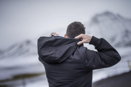 Marwan Arkawi är under våren ute på turné i Norden med Det levda baklänges, eller Aftur-á-bak som den heter på Island, där han spelade i slutet av mars. Foto: Alexander Mahmoud