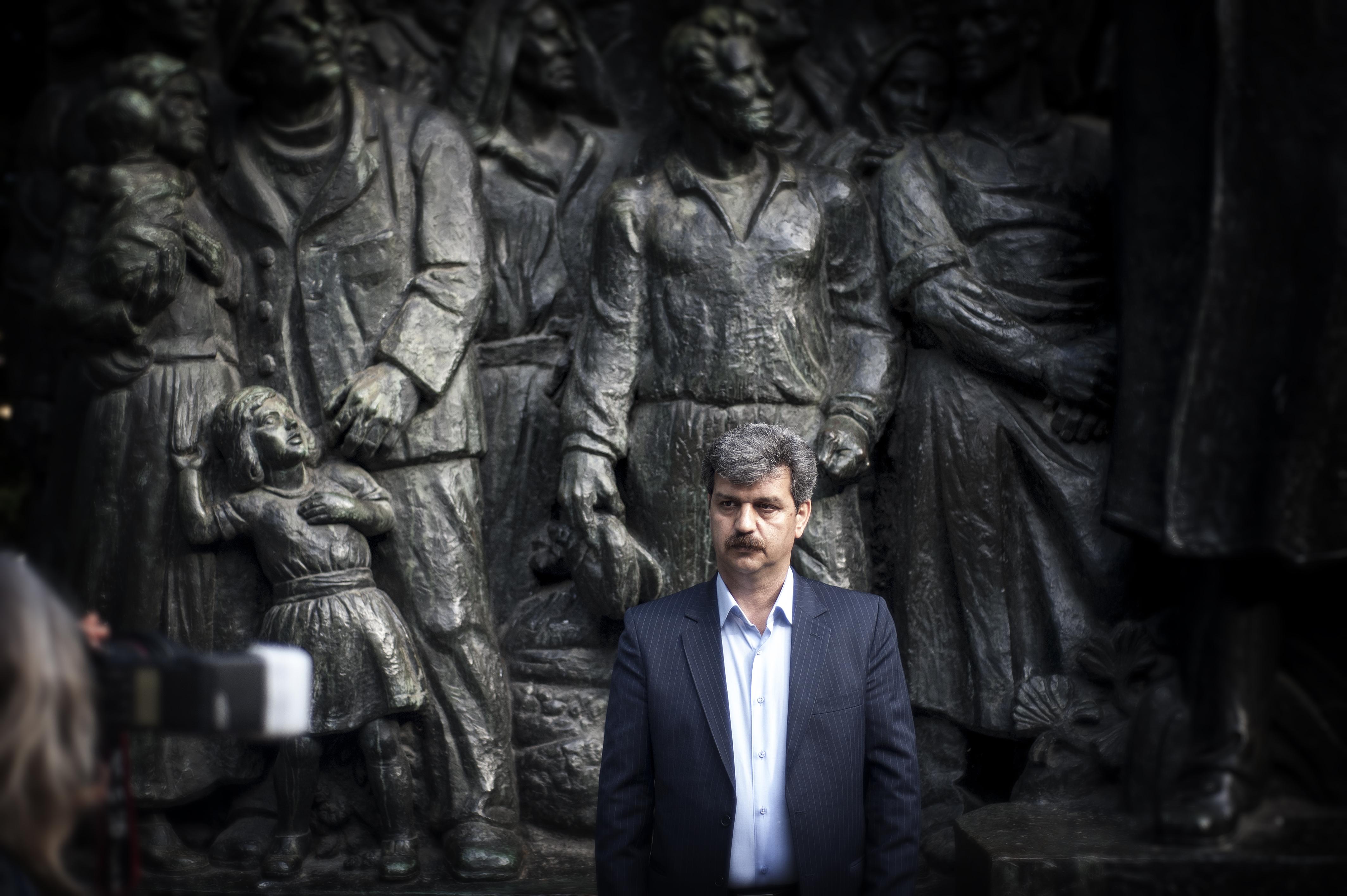 Iransk oppositionsman fick hjartattack