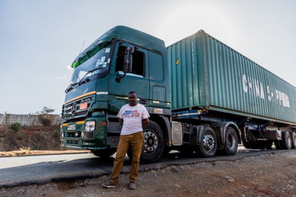 In Kenya the truck drivers' road goes through corruption and