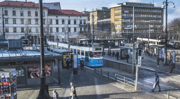 Spårvagnar Göteborg