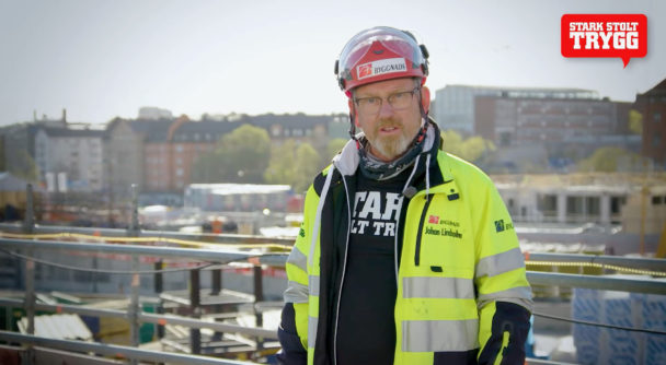 Johan Lindholm, Byggnads