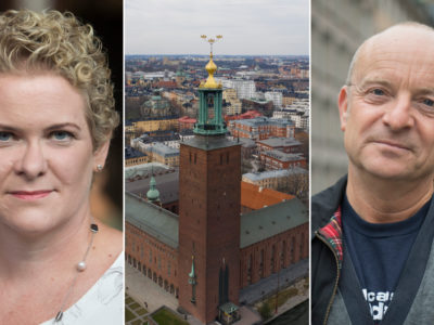 Karin Wanngård Stockholms stadshus Jonas Gardell