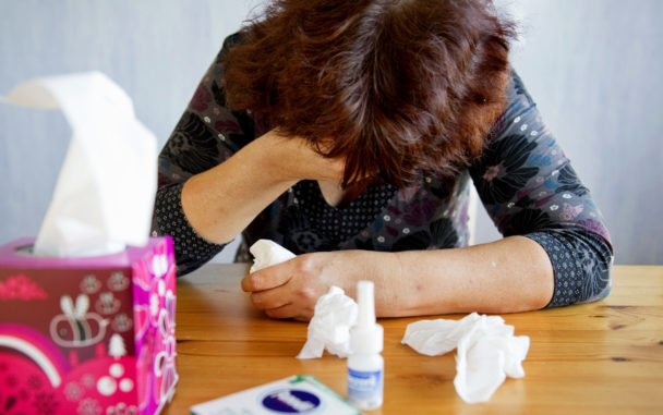 Sjuk i hemmet