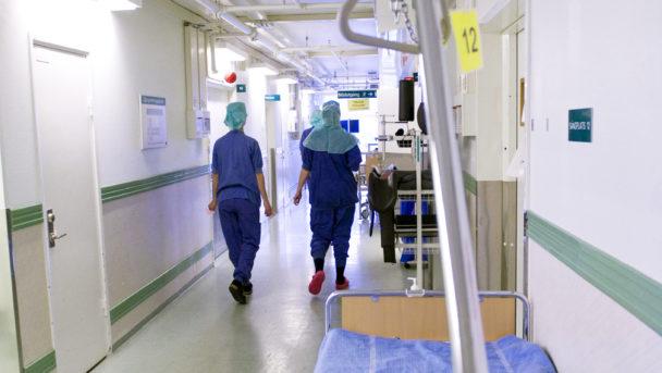 Sjukhus korridor