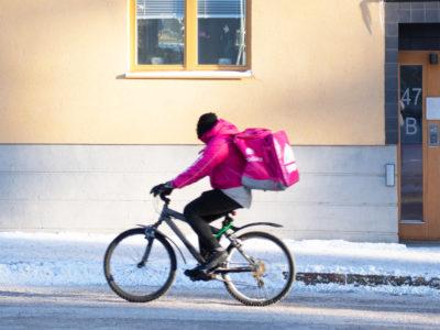 Foodora cykelbud